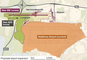 image: UK BIFA freight forwarding London Heathrow Airport Expansion controversy