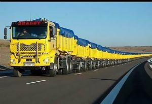 image: Australia road haulage trucks transport infrastructure wireless traffic light technology freight