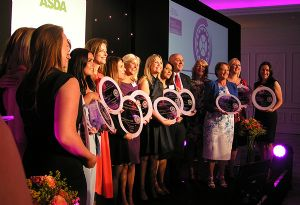 image: Freight transport UK logistics awards everywoman Marriott Hotel passenger Chris Grayling