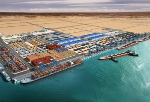 image: DP World Djibouti government CMA CGM container line freight port logistics PIL