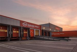 image: Romania Gebr�der Weiss freight forwarding logistics terminal facility air sea road warehouse