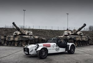 image: UK Briggs Defence Equipment war heroes charity armed forces European Rally