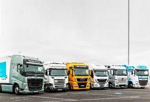 image: UK RHA road haulage freight class action European truck cartel