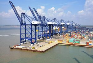 image: UK Port of Felixstowe BIFA freight international road haulage delays shippers