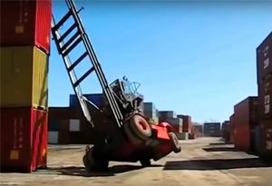 image: UK September fork lift truck safety Safetember