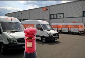 image: UK Royal Mail Whistl postal anti-competitive multi-million pound fine