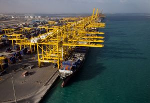 image: DP World port logistics container terminal Doraleh financial results