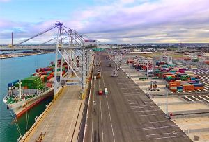 image: Australia ITF International Container Terminal Services Inc. (ICTSI) deaths murder inquiry dock handling unions Crumlin