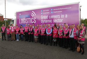 image: UK National Logistics Academy Ofsted training apprenticeships transport