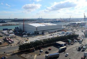 image: UK Port of Tilbury Bananas logistics supply chain NFT Perishables