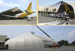 image: U Freight SOAR LP logistics aviation mobile hangar freight forwarding