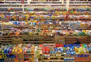 image: UK supermarkets retail urban food supply chain logistics online shopping consultancy discount retailers