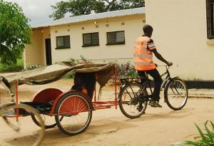 image: Zambia malaria Transaid shipping logistics charity MMV deaths saves lives Serenje district