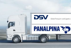 image: Denmark Switzerland DSV Panalpina freight forwarding logistics haulage share swap