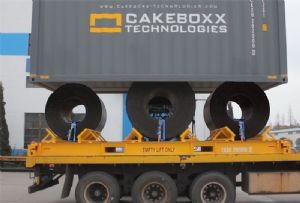 image: UK CakeBoxx Technologies base and lid container box design shipping energy oil& gas sector SPE Offshore Europe