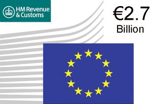 image: EU UK customs duties VAT fraud European Commission