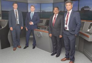 image: UK W�rtsil� container bulk shipping lines maritime professionals Warsash University Southampton