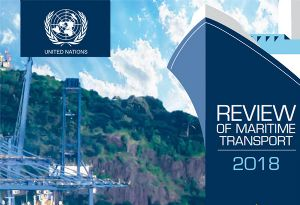 image: UNCTAD United Nations review of maritime transport container shipping lines bulk dry forecast