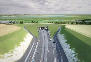 image: UK FTA freight transport road haulage lower Thames crossing Dartford M25 consultation