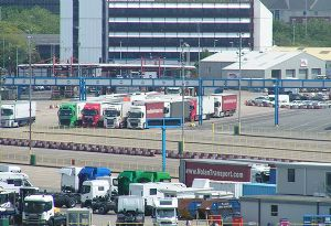 image: UK EU Brexit logistics transport freight road haulage rail shipping House of Lords Committee submissions