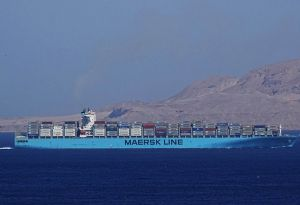 image: Abu Dhabi Norway heavy lift break bulk Maersk Gibraltar coastal freighter Atlas Greencarrier logistics