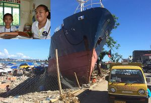 image: Philippines Typhoon Haiyan Sailor�s society charity maritime logistics tragic tales deaths