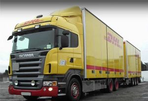image: DHL Freight Germany driver shortage road haulage freight crisis HGV