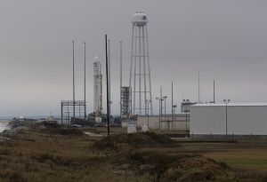 image: US NASA space ship freight ISS track cargo here Northrop Grumman Antares