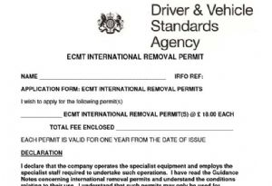 image: UK freight transport association FTWA road haulage ECMT transit permits EU EEA