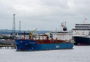 image: Norden Handysize product tanker Denmark marine biofuel carbon neutral CO2 NGO test voyage