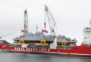 image: Germany heavy lift Hansa Rickmers freight project freight insolvency Zeaborn Zeamarine