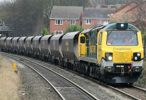 image: UK Freightliner heavy haul cargo million tonnes rail freight