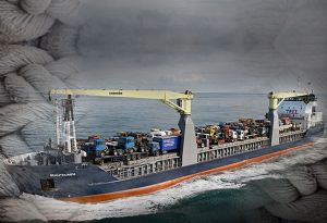 image: UK Hull Caribbean shipping break bulk heavy lift project freight services cargo ECL ABP