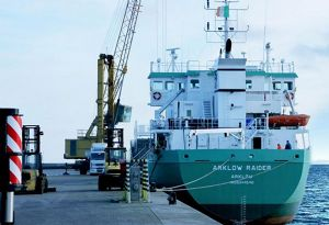 image: UK RoRo ferry Arklow shipping Seaborne Ramsgate Ostend Chris Grayling resign