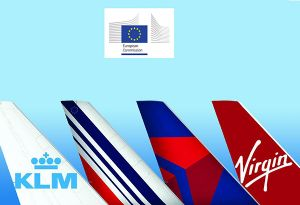 image: European Commission Virgin Atlantic Cargo triumvirate freight options Air France-KLM, Delta