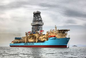 image: Denmark AP Moller Maersk Drilling transport logistics container shipping