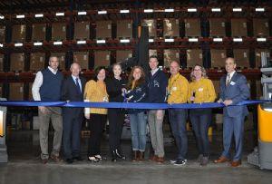 image: US CEVA IKEA home delivery freight forwarding logistics warehouse distribution facility