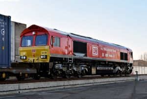 image: UK DB Cargo freight train level 3 driver road haulage HGV LGV logistics sector National College for High Speed Rail