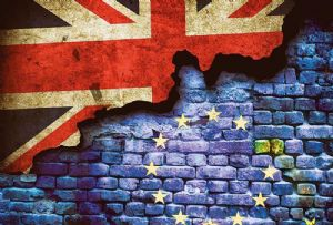 image: UK FTA freight transport EU Brexit No deal tariffs community codes