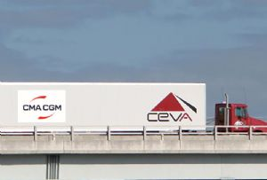 image: Switzerland France CMA CGM third largest ocean container shipping 3PL freight forwarding acquisition CEVA logistics squeeze out share take over