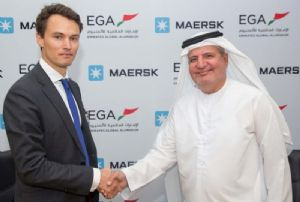 image: UAE Maersk Largest Container Shipping Line Extends Emirates Global Aluminium Transport Contract