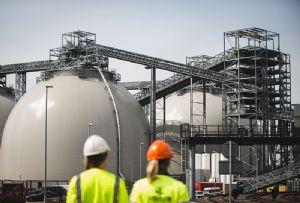 image: UK Drax power station Port of Hull import ABP cargo wood pellets tonnes dry bulk terminal