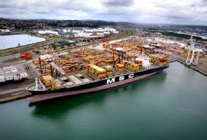 image: South Africa Transnet National Ports Authority TNPA Durban container freight bulk cargoes TEU