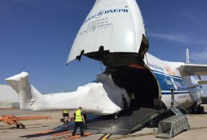 image: UK Australia Panalpina Babcock helicopters freight forwarder heavy air cargo Volga Dnepr