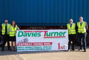 image: UK Davies Turner ocean freight forwarder logistics intermodal rail LCL service air cargo rates