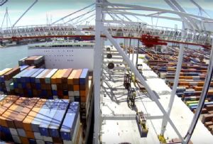 image: UK DP World COSCO container feeder services port call freight portfolio