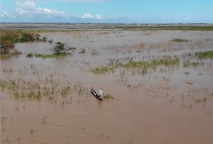 image: Mozambique cyclone Idai supply chain shipping logistics EU aid Red Cross Denmark DSV