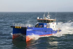 image: Netherlands autonomous vessel trials North Sea maritime operations traffic