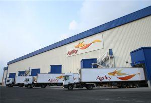 image: Bahrain Agility logistics freight warehouse hub