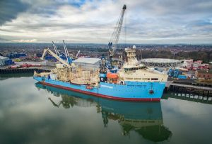 image: Denmark AP Moller - Maersk Supply Service Drilling container shipping and logistics giant